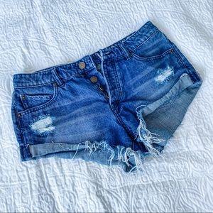Volcom Cutoff Jean Shorts